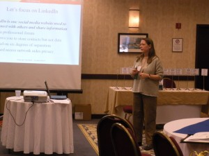 Paula Presenting at the MCDA Annual Conference 2011